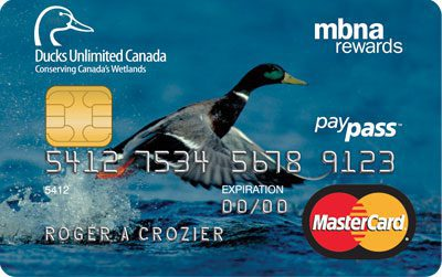 Ducks Unlimited Canada Credit Cards from MBNA Canada ...