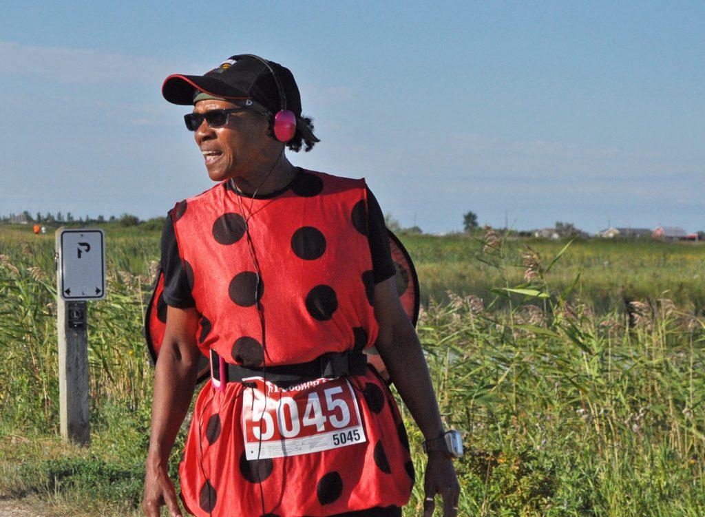 Running the 10k trail