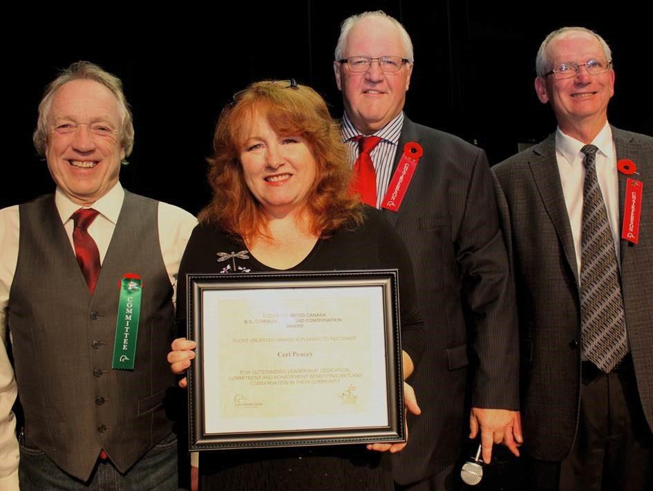 Hamilton Marsh volunteer receives award