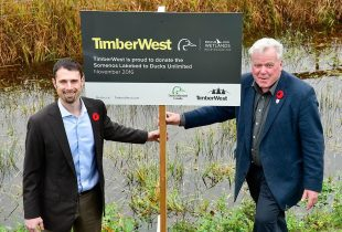 TimberWest Donates Entire Somenos Lakebed to Ducks Unlimited