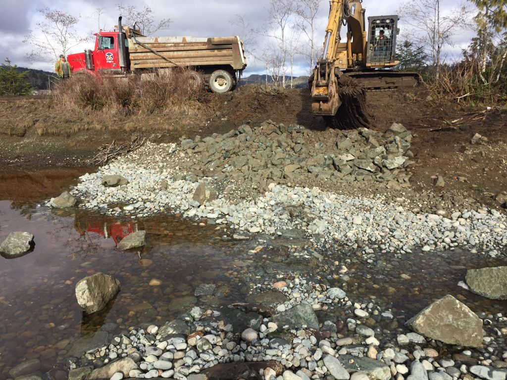 salmon project construction