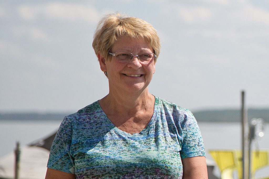 Sherry Forsyth near Quill Lakes