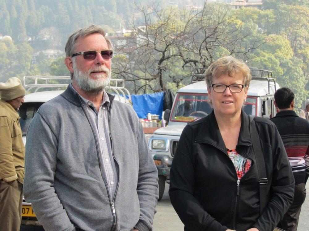Blain and Naomi Hjertaas.