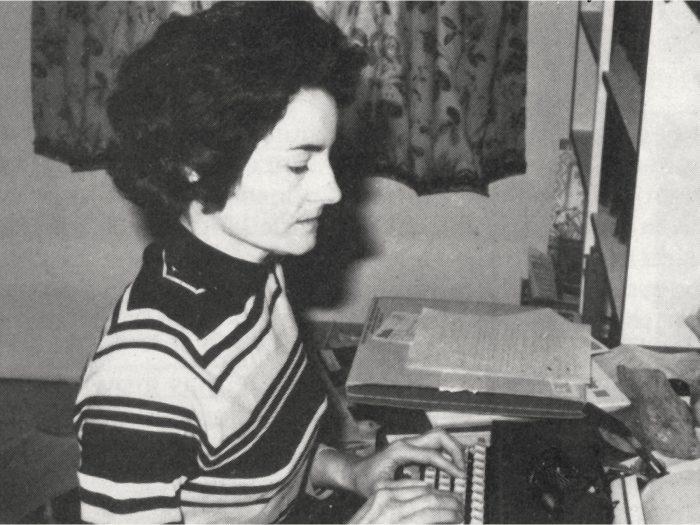 Christine Pike was one of DUC's few Keewomen.