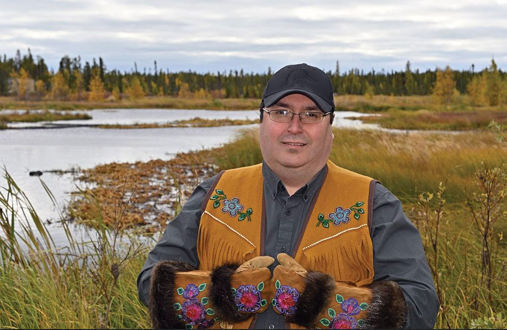 Barrett Lenoir collaborates with partners to advance DUC conservation priorities in the Northwest Territories.