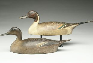 Rare pintail decoys set world auction record