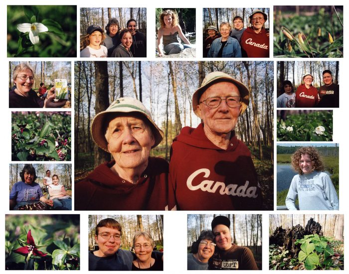 Tribe Family Photo Collage