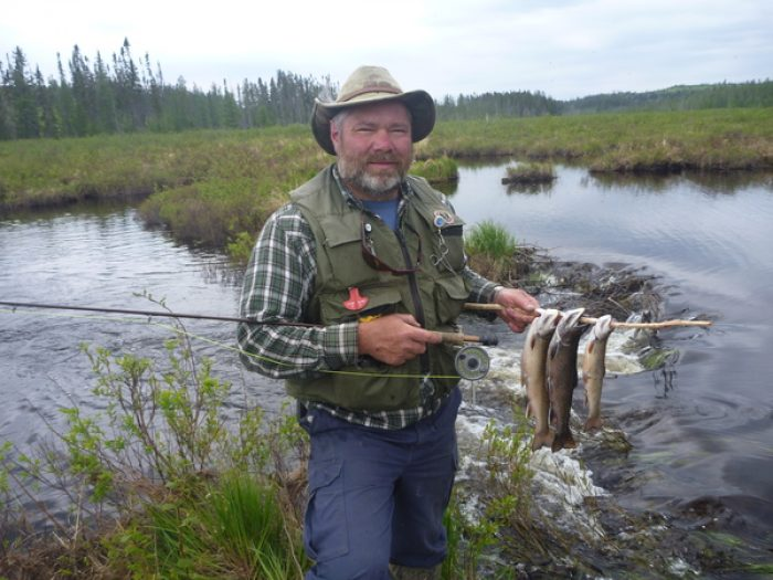 Feather Society member Mike Fuller enjoys an outdoor lifestyle.