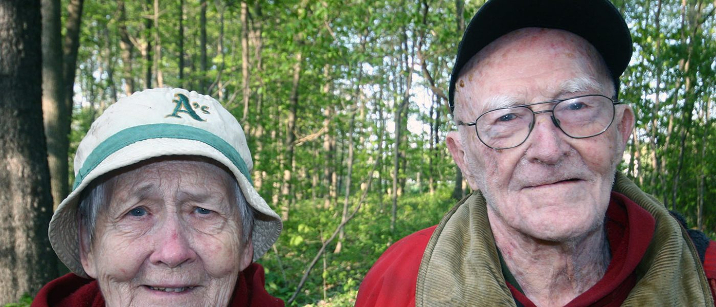 My parents, Jessie and Harry Tribe
