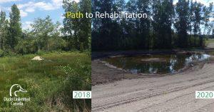 Image of habitat rehabilitation