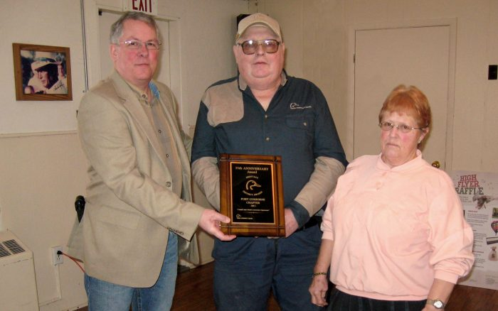 Wayne Furry and the Port Colborne Chapter received a DUC 35th Anniversary Award in 2012.