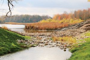 Cedar creek in Woodstock, Ontario
