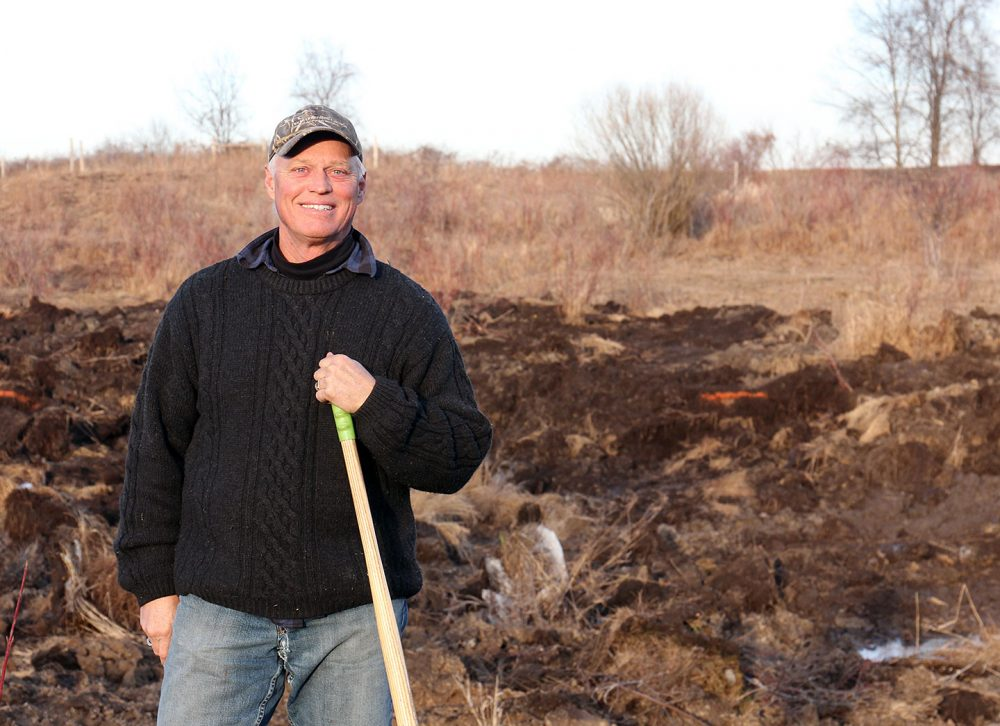 DUC volunteer Phil Holst helped facilitate my family's decision to work with DUC on our wetland restoration project.