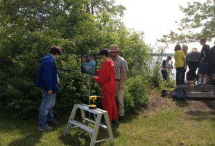 Peninsula Shores students bring wetland education to Wiarton