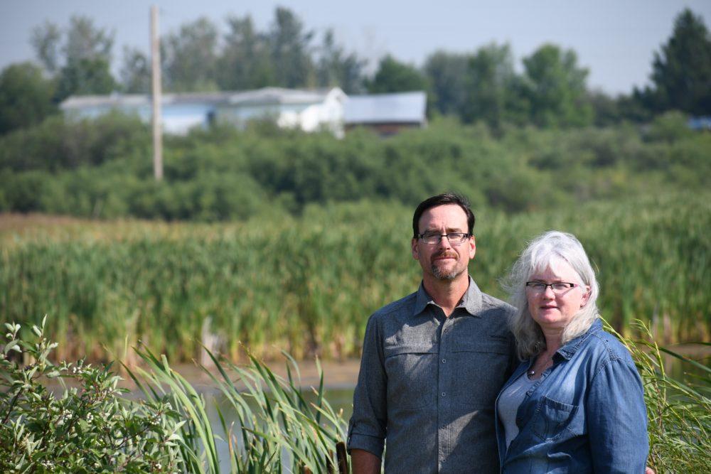 Rapid City area landowners Tom and Valerie Northam.