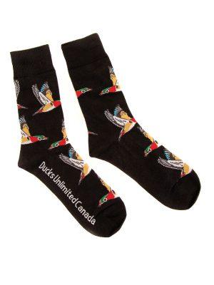 DUC Gear™ Socks: Wood Duck Edition