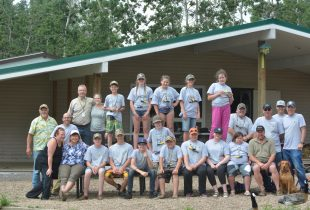 Summer camp for tomorrow's waterfowlers