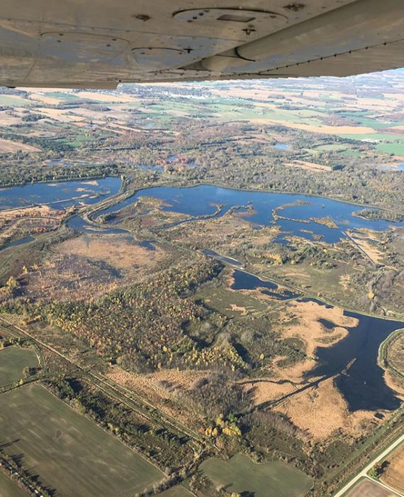 Hullett Marsh Provincial Wildlife Area © DUC