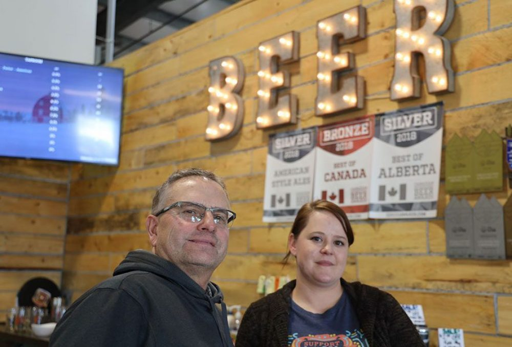 Spencer Hilton and Meleah Geeraert, co-founders of Origin Malting and Brewing