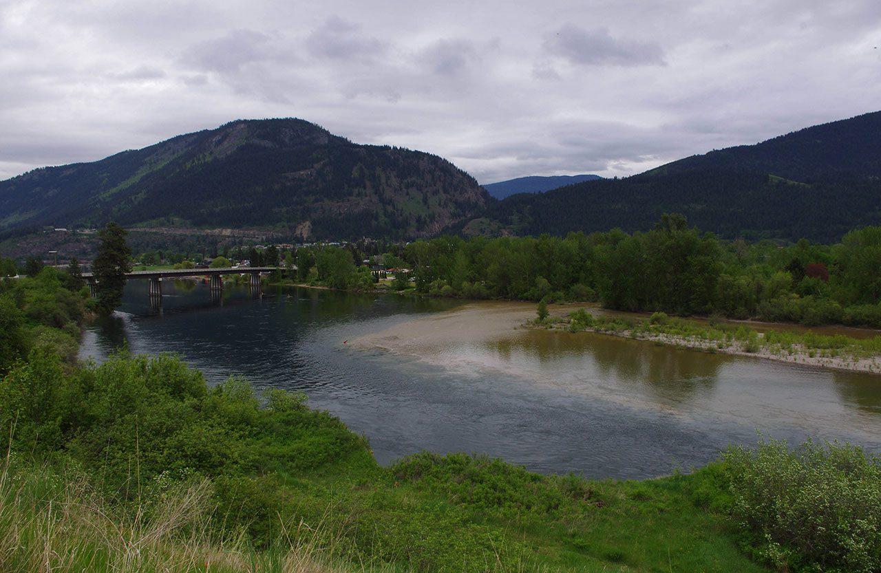 BC Interior - Thompson River, BC - Spring 2020