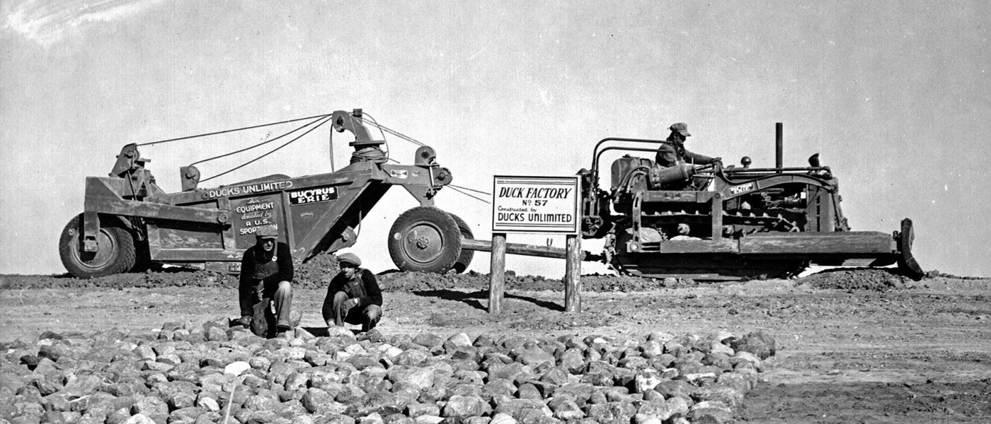 DUC's early beginnings arose from doing something impactful to offset the hardships of the Dust Bowl and Great Depression.