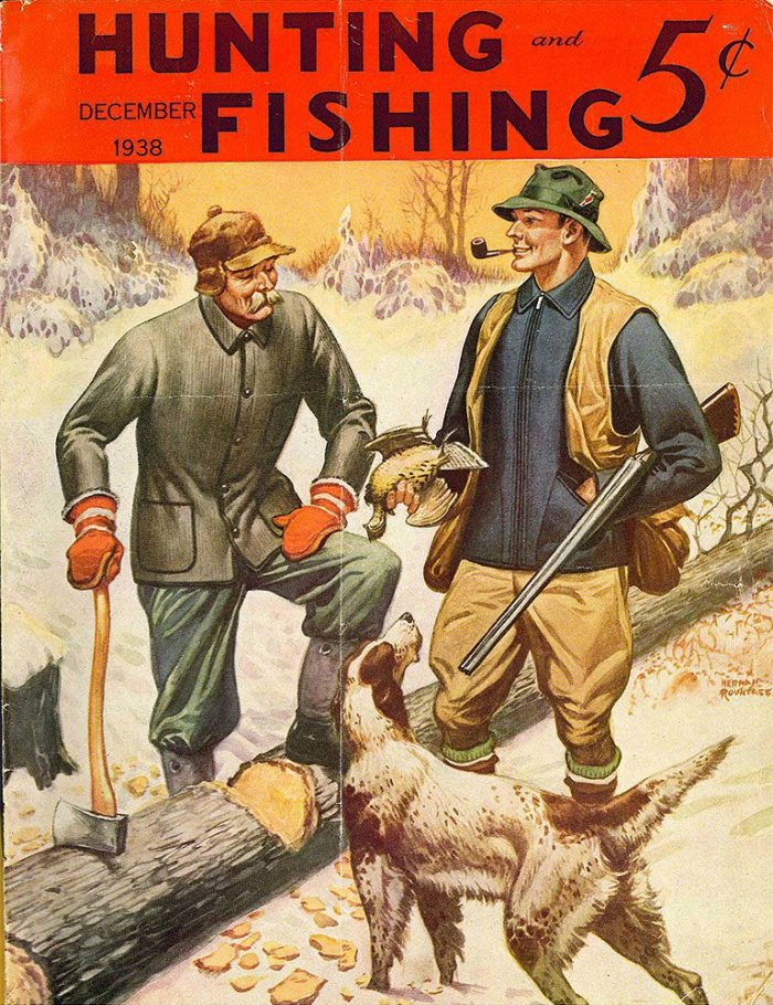 Cover of the original 1938 Hunting and Fishing publication.