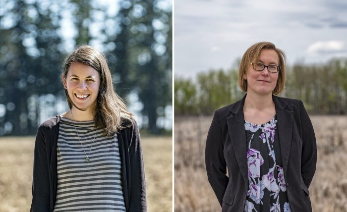 Kylie McLeod, team lead, best management practices and Bev Gingras, head of boreal conservation programs, national boreal program, represent DUC within the FMWSI partnership. Both have been recognized by FPAC for their roles in advancing wetland stewardship.