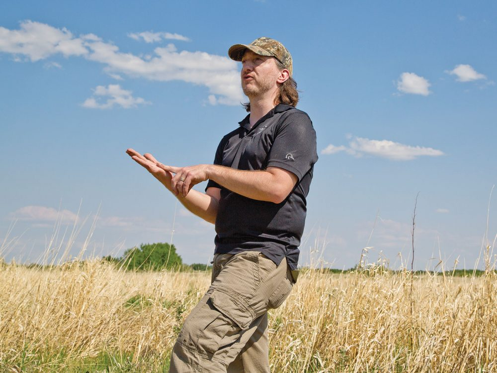 Pascal Badiou – Ducks Unlimited Canada research scientist