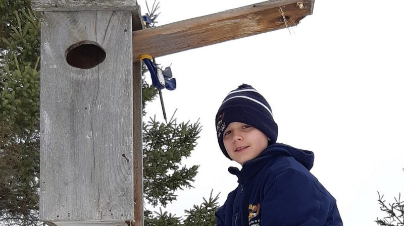 Father and son team up to clean up Ottawa Wetland Centre of Excellence