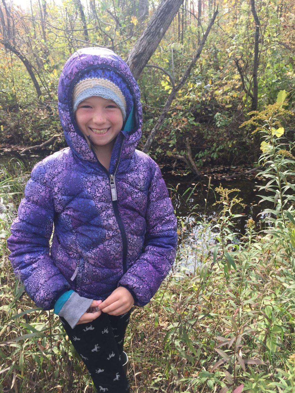 Sadie Courtney was inspired by the wetland habitat at Greenock Swamp.