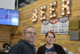 Beer and conservation come together for Alberta farming family