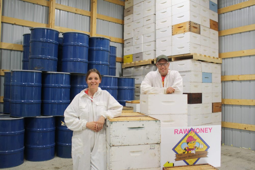 Martin and Kari Gottselig of The Honey BuZzz Apiary.