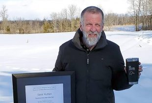 Daryl Hutton is DUC's Volunteer of the Year in Ontario