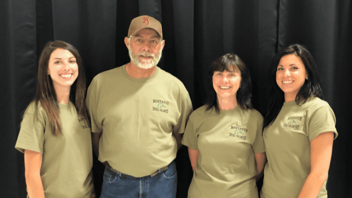 David O'Connor and his family volunteer together with DUC's Montague chapter in P.E.I.