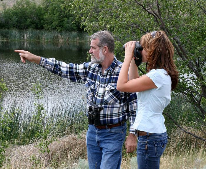 DUC volunteer Glenn Dreger and daughter Heidi are committed to giving back to the natural world by supporting wetland conservation.
