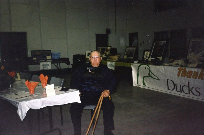 Mack Zibin was an avid outdoorsman, and one of DUC's original Keeman volunteers. He and Sybil were committed DUC volunteers at local DUC fundraising events.