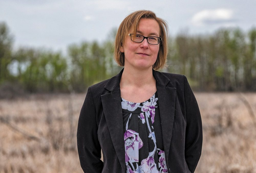 Bev Gingras, DUC's head of boreal conservation programs