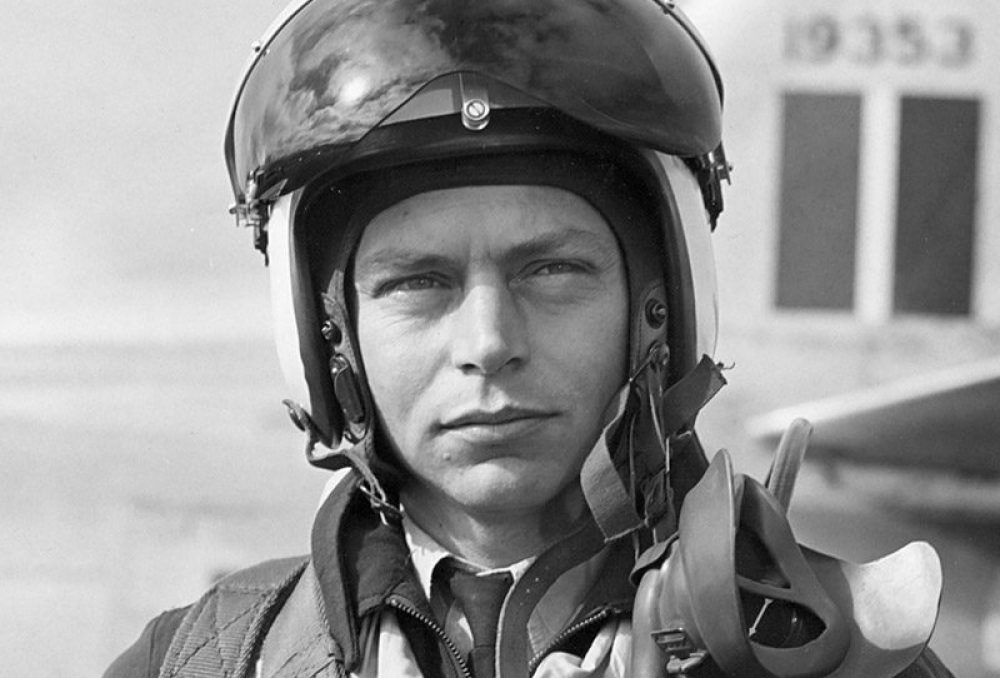 Stocky Edwards was the highest scoring ace (a title given for shooting down five or more enemy aircrafts during aerial combat) in the Western Desert Campaign and finished the war with a total of 373 operational sorties without being shot down.